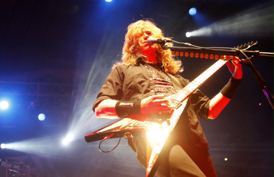 Dave Mustaine | Lehtikuva, Vesa Moilanen